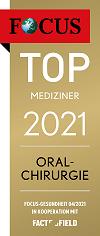 Focus Siegel - Top Mediziner 2021 Oralchirurgie