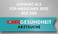 Geführt auf der Focus Gesundheit Arztsuche